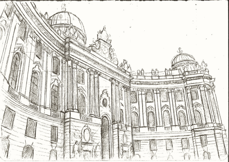 Hofsburg Palace in Vienna