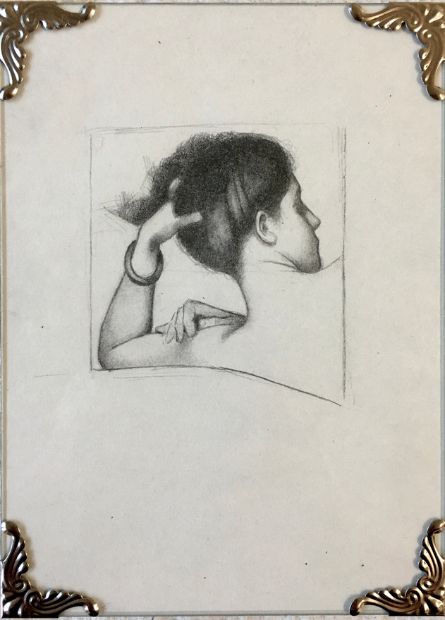 Study of Reclining Woman