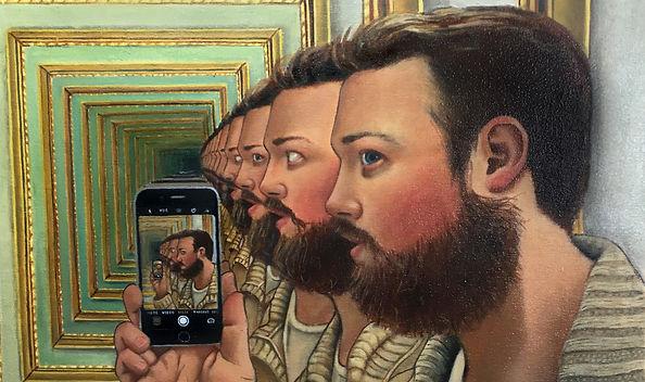 mirror tunnel effect