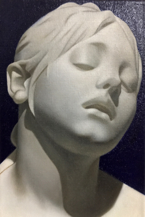 Study of Marble Bust