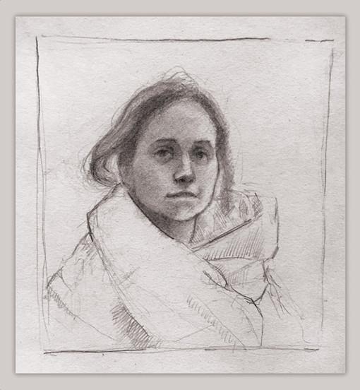 Portrait of Iga