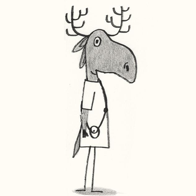 Elegant moose