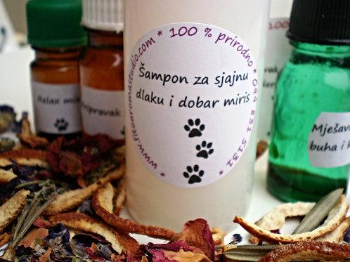 Šampon za sjajnu dlaku i dobar miris