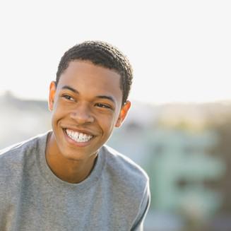 Smiling Teenage Boy