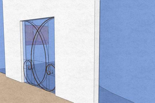 Conference meditation exterior, entrance
