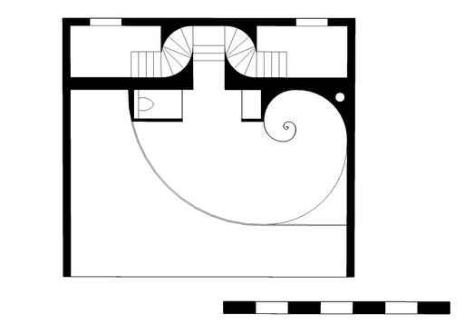 Hotel suite plan, 2nd floor