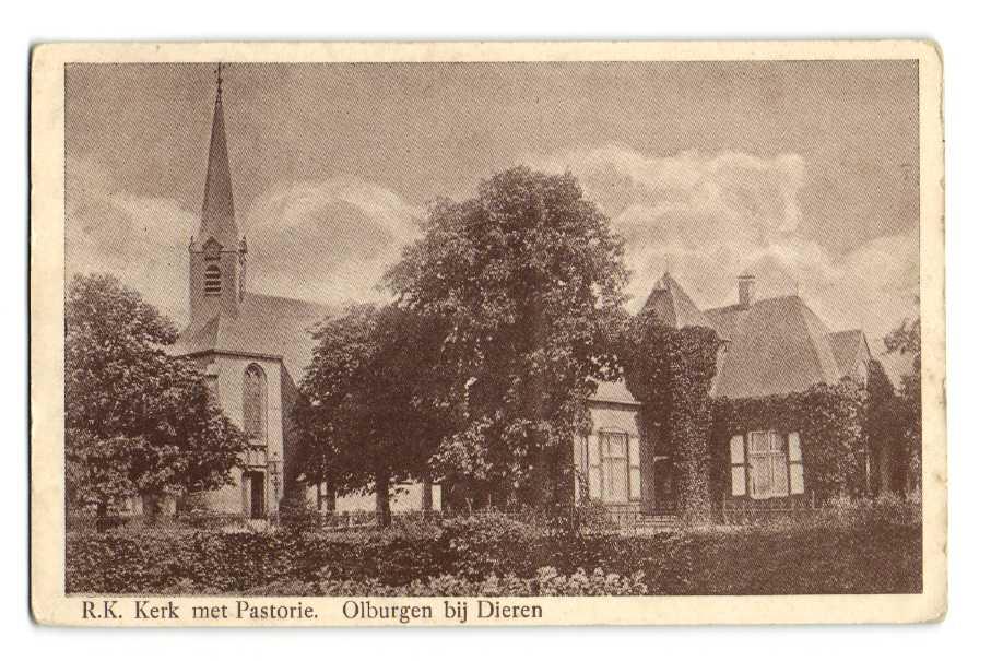 Pastorie Olburgen 1942