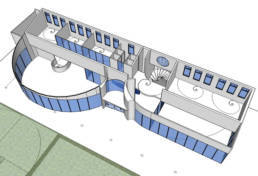 Clubhouse 3D plan