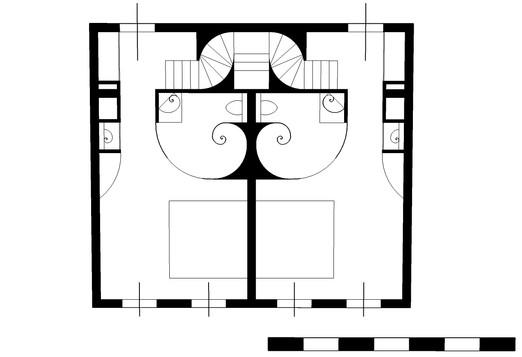 Hotel suite plan, 1st floor