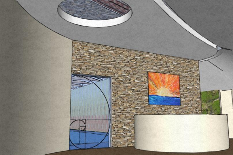 Interior Swimmingpool, reception