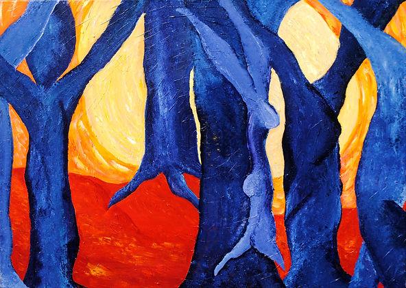 'Kleurenrijk' (2011), acrylverf op linne