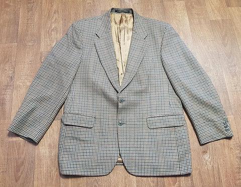 Mens Blazer | 1980s Check Blazer | Mens Clothing | Vintage Shop