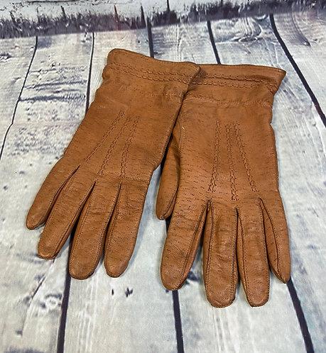 Vintage Gloves | Unique Vintage | Leather Gloves | 1960s Fashion