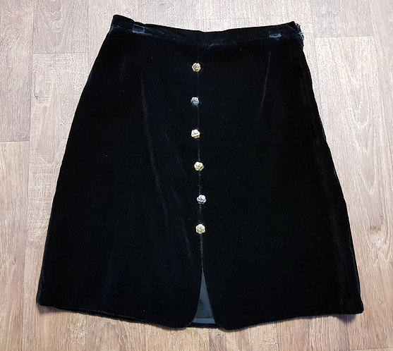 Vintage Skirt | 1960s Mini Skirt | Mod Clothing | 60s Style