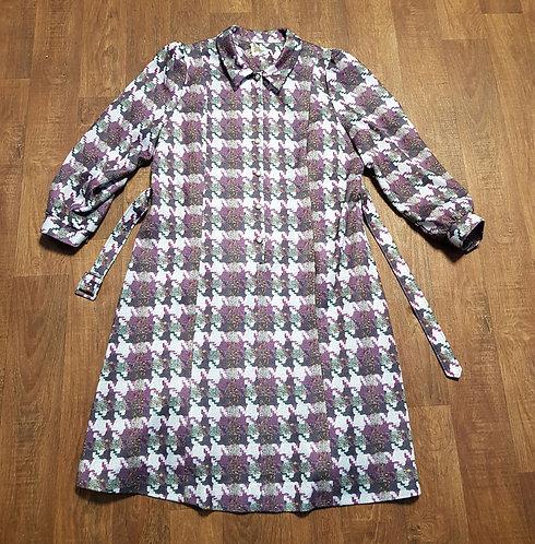 Vintage Dress | Plus Size Dress | Vintage Clothing | 1970s Style