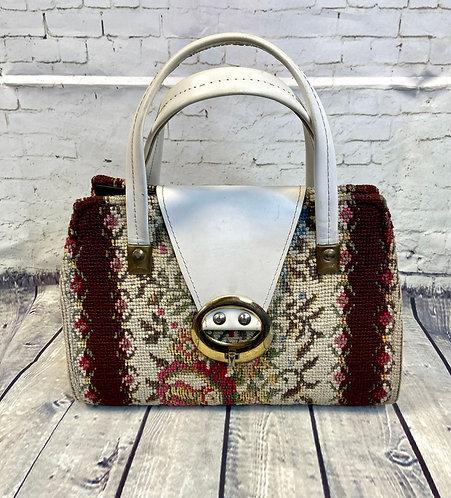 Vintage Handbag | Tapestry Handbag | Unique Vintage | 1960s Style