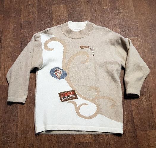 Vintage Jumper | 1980s Basler Jumper | Vintage Clothing | Retro Knitwear
