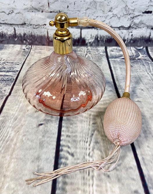 Vintage Perfume Bottle | Unique Vintage | Vintage Gifts | Pink Perfume Bottle