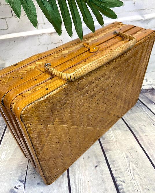 Vintage Box Bag   Unique Vintage   1950s Box Bag   1950s Style