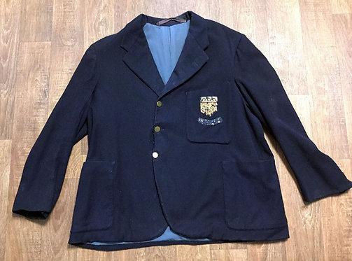 Mens Original 1930s Vintage Sports Club Blazer UK Size Medium