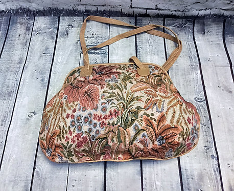 Vintage Handbags | Tapestry Handbags | 1980s Accessories | 80s Handbag
