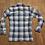Thumbnail: Mens Vintage Blue/Grey Check Shirt UK Size Medium