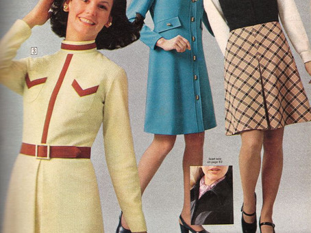 Fashion Focus - 1970s Dresses