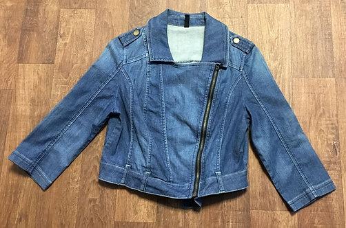 Vintage Denim Jacket | Vintage Biker Jacket | 80s Style | Retro Jackets
