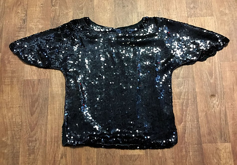 Vintage Sequin Top | Vintage Clothing | 80s Fashion | Evening Tops