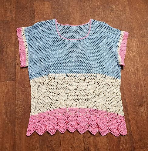 Vintage Crochet Top | Retro Tops | Vintage Clothing | Eco Friendly