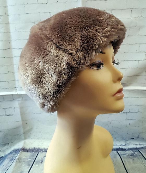 Vintage Hat | Vintage Faux Fur Hat | Vintage Accessories | Eco Friendly
