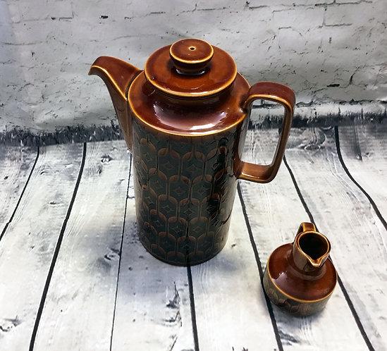 Vintage Coffee Pot | Vintage Hornsea | Retro Coffee Pot | Homeware
