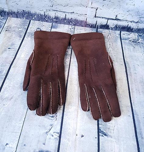 Vintage Gloves | 1970s Gloves | Sheepskin Gloves | Vintage Shop