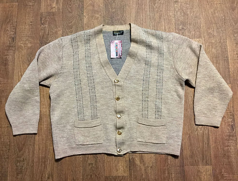 Mens 1970s Vintage Dunn & Co Cardigan UK Size XL