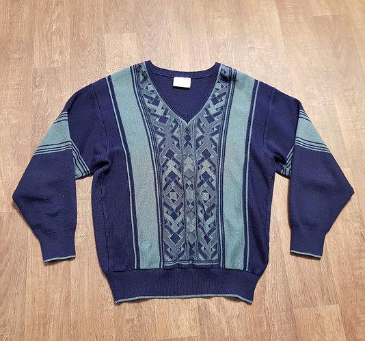 Mens Jumper   Vintage Gabicci Jumper   1980s Knitwear   Vintage Clothing