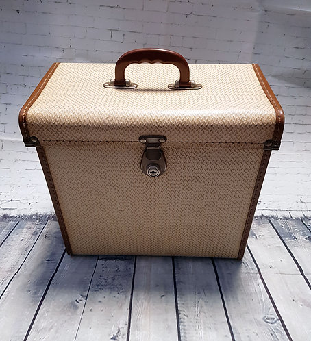 Vintage Carry Case | Record/LP Carry Case | Vintage Collectables | 1950s Homeware