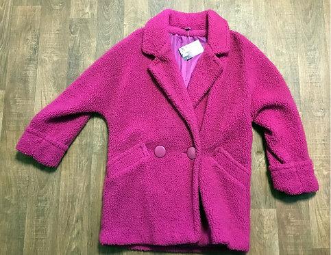 Vintage Coat | 1970s Faux Fur Coat | Preloved UK | 70s Style