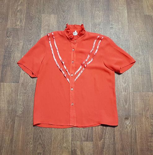 Vintage Blouse   Vintage Clothing   1970s Blouse   Preloved UK