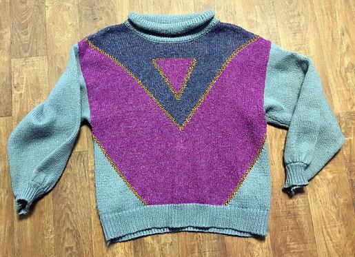 Vintage Jumper | Vintage Knitwear | 1980s Jumper | 80s Fashion