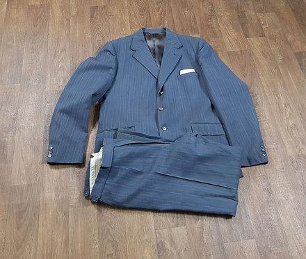 Mens Vintage Suit | 1950s Pinstripe Suit | Vintage Clothing | 1950s Style
