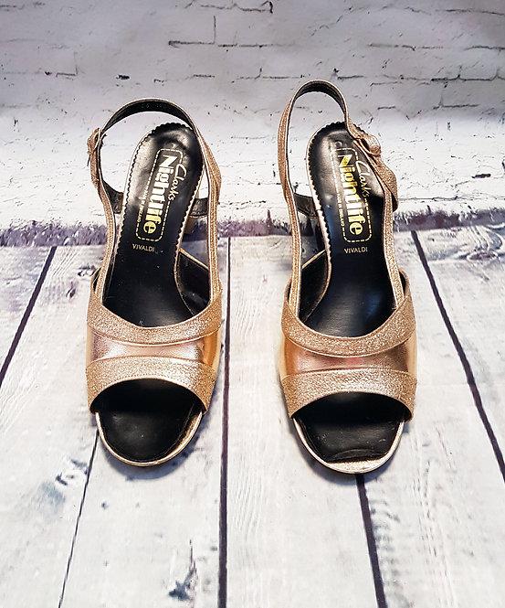 Vintage Sandals | Vintage Shoes | 60s Style | Retro Evening Shoes