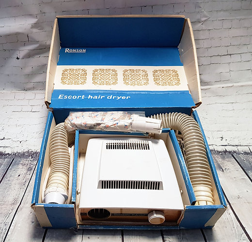 Vintage Hair Dryer | 1960s Ronson Hair Dryer | Vintage Collectables | Retro Shop