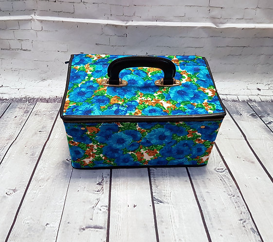 Vintage Vanity Case | Vintage Accessories | Retro Bags | Eco Friendly