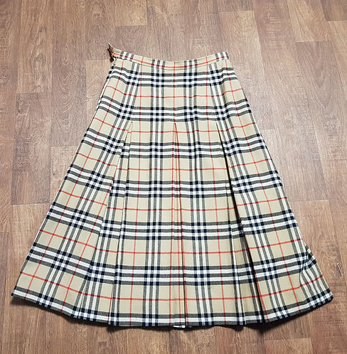Vintage Burberrys Skirt | Designer Burberry Skirt | Vintage Clothing | Eco Friendly