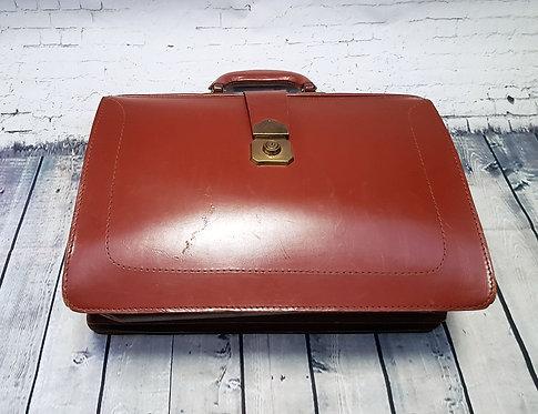 Vintage Gladstone Bag | Vintage Doctors Bag | 1960s Briefcase | Vintage Shop