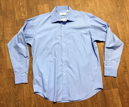 Mens Original Vintage Light Blue YSL Shirt UK Size XL