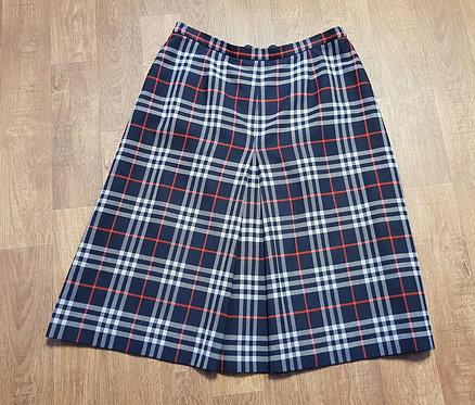 Vintage Skirt | Vintage Burberrys Skirt | Check Skirt | Vintage Clothing