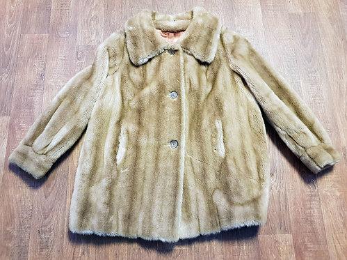 Vintage Coats | 1960s Faux Fur Coat | Vintage Clothing | 60s Style