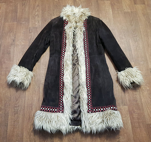 Vintage Coat   70s Style Coat   Afghan Coat   Vintage Clothing