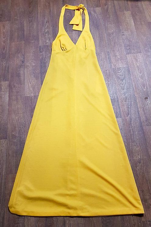 Vintage Dress   1970s Maxi Dress   Boho Clothing   70s Fashion